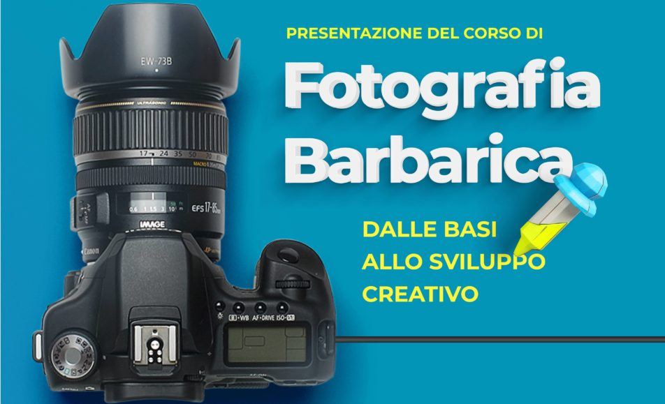 Photo Studio Barbaros presenta: corso di Fotografia